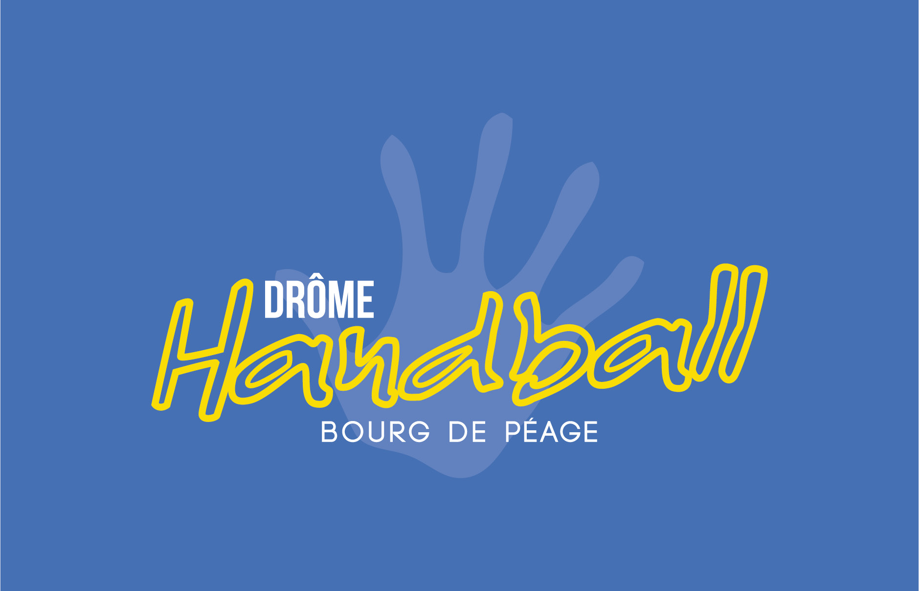 Dr me handball bourg de p age portfolio agence 2c comm for Piscine diabolo a bourg de peage