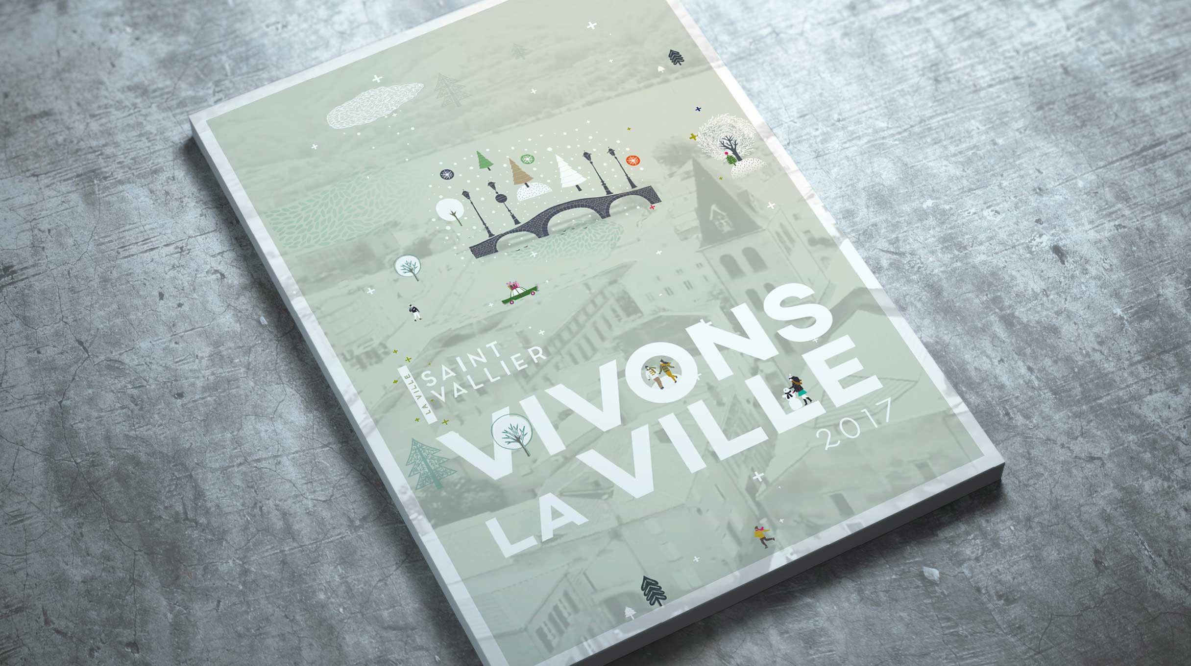 Ville de saint vallier portfolio agence 2c comm for Piscine vallier